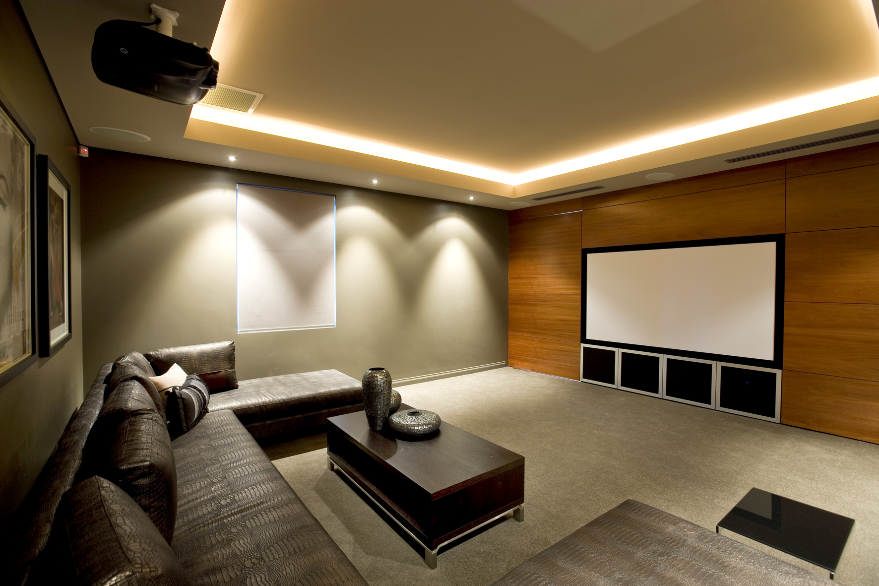 Theatre rooms three dimensional - Lounge rooms ...